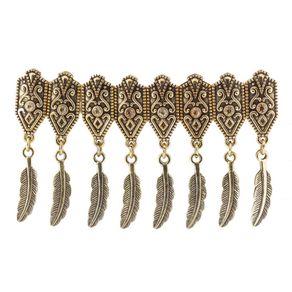 Bracelete-Feather-Ouro-Velho-Amarelo