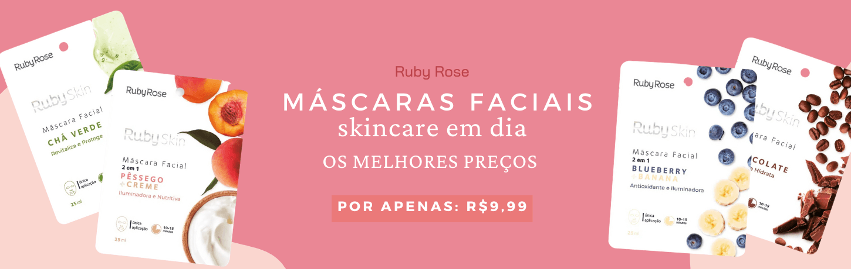 Mascaras Faciais da Ruby Rose