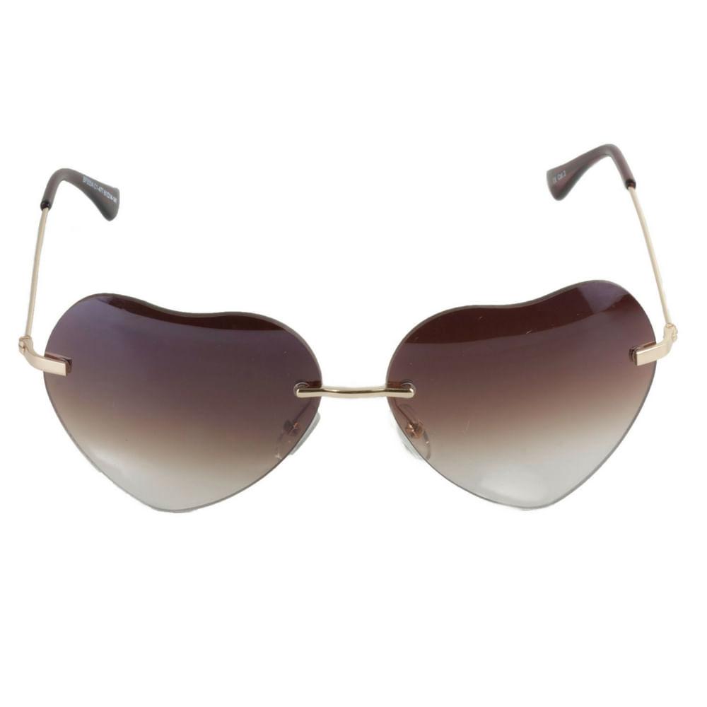 Óculos de Sol Feminino Coração - Heart Shapped - Fashion Biju ea6eb4dab0
