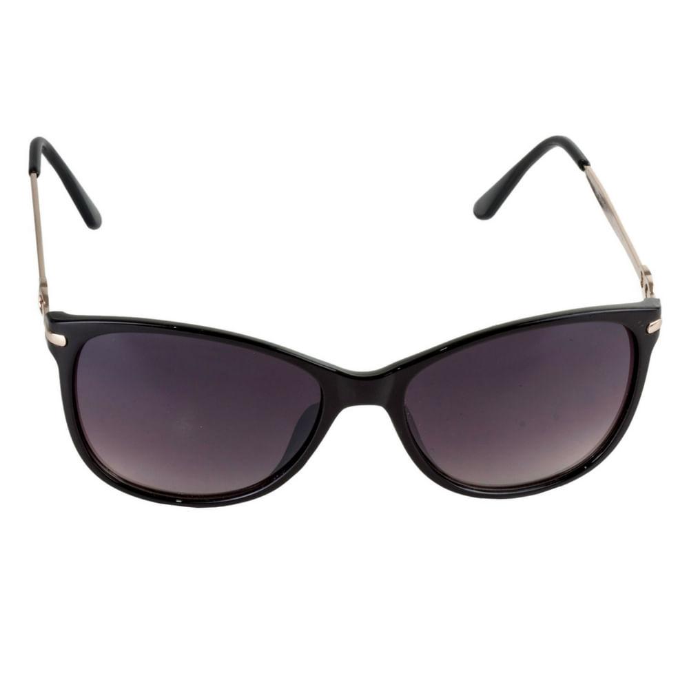 Óculos de Sol Feminino Haste Dourada - Fashion Biju f0ec334e01