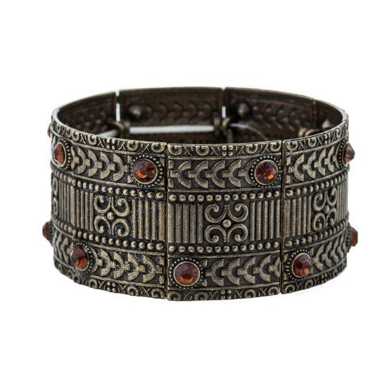 Bracelete-Bohemian-Ouro-Velho-Laranja