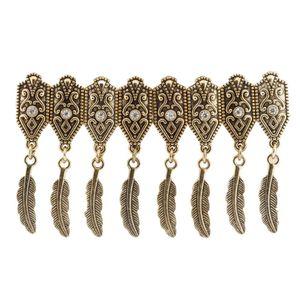 Bracelete-Feather-Ouro-Velho-Strass
