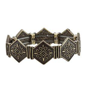 Bracelete-Losangos-Ouro-Velho