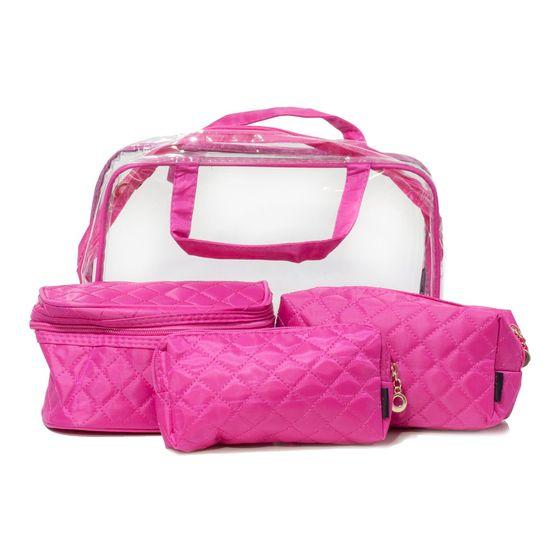 Kit-Bolsa-com-Necessaires-Rosa