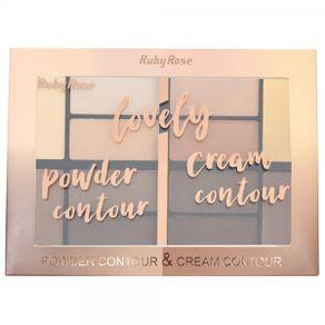 paleta-ruby-rose-lovely-powder-contour---Caixa-fechada