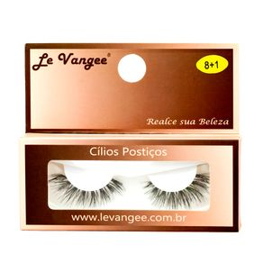 Cílios Postiços Le Vangee 8 +1 - Preto