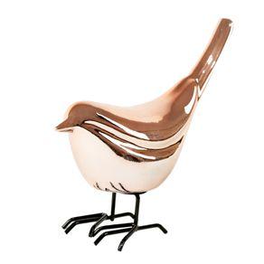Adorno Pássaro - Rose Gold