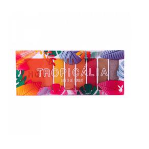 Paleta de Sombras Tropicália Hot e Color