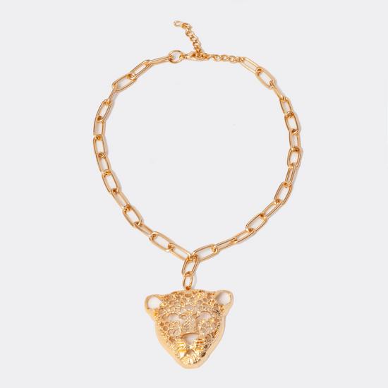 maxi-colar-dourado-com-pingente-de-onca-Fashion-Biju