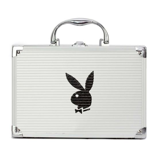 maleta-de-maquiagem-prata-playboy