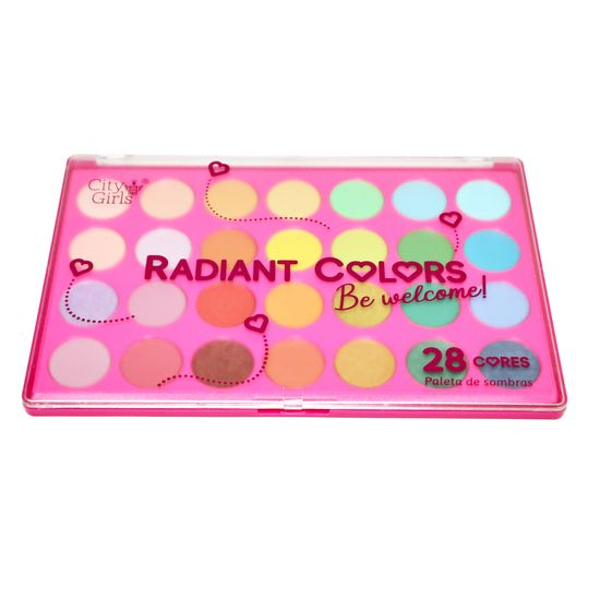 Paleta de Sombras Radiant Colors City Girls