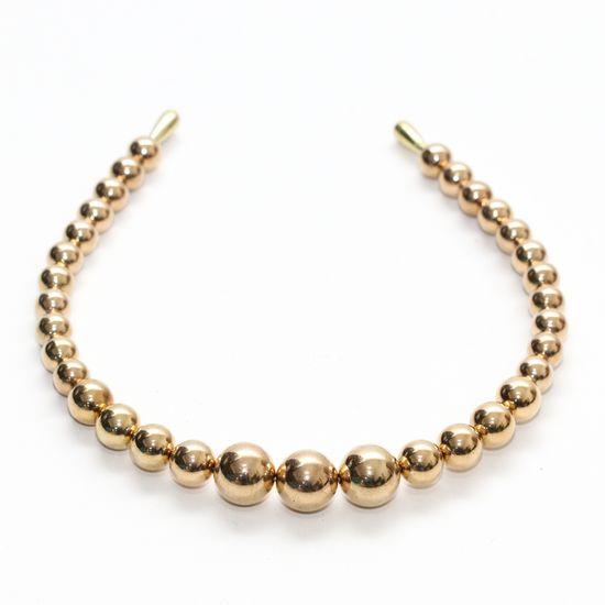 tiara-de-bolinhas-dourada