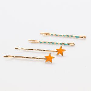 kit-grampo-dourado-de-estrela-laranja-e-verde