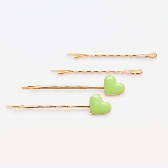 kit-grampo-dourado-de-coracao-verde-e-rosa-claro