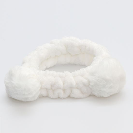 faixa-para-maquiaem-de-pompom-branco