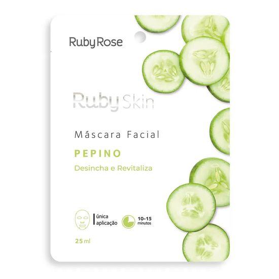 mascara-facial-de-tecido-pepino-skin-ruby-rose