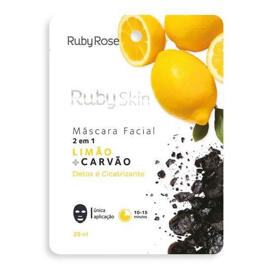 mascara-facial-de-tecido-limao-e-carvao-skin-ruby-rose