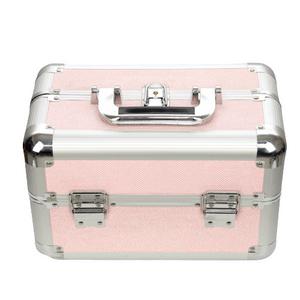 maleta-de-maquiagem-profissional-media-com-brilho-rubys-rosa
