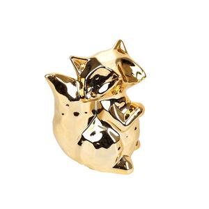 raposa-decorativa-dourada