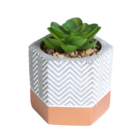 vaso-hexagonal-com-suculenta-artificial