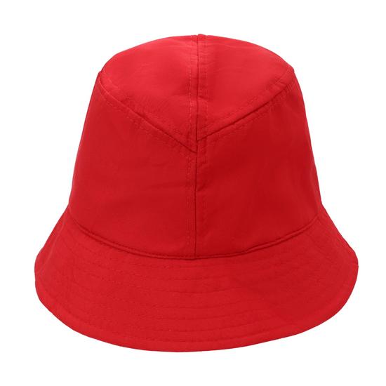 chapeu-bucket-hat-liso-vermelho