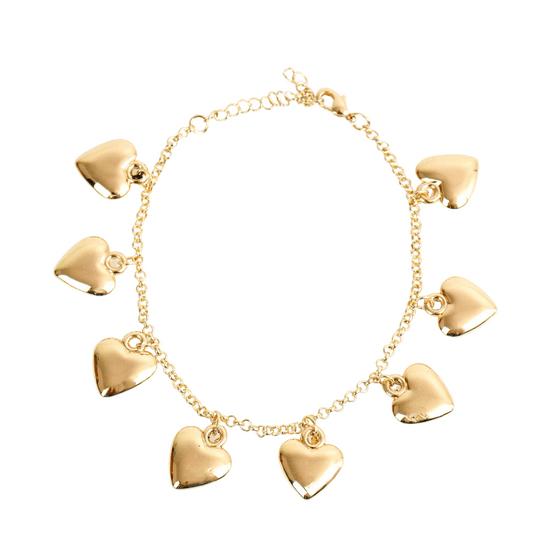 pulseira-com-pingentes-de-coracao-dourado