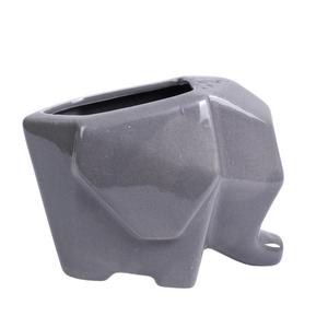 vaso-decorativo-elefante-geometrico-cinza