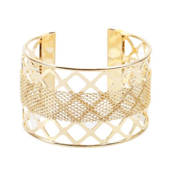 pulseira-bracelete-com-textura-trancada-dourado