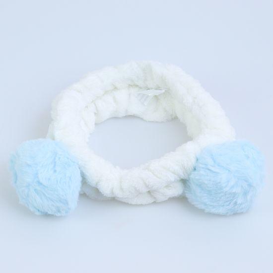 faixa-para-maquiagem-de-pompom-azul-e-branca