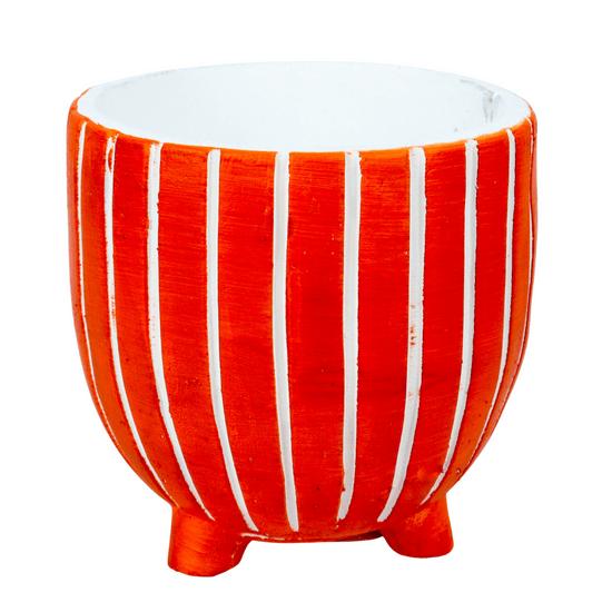 vaso-decorativo-grande-com-listras-laranja