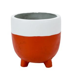 vaso-decorativo-grande-de-cimento-bicolor-laranja