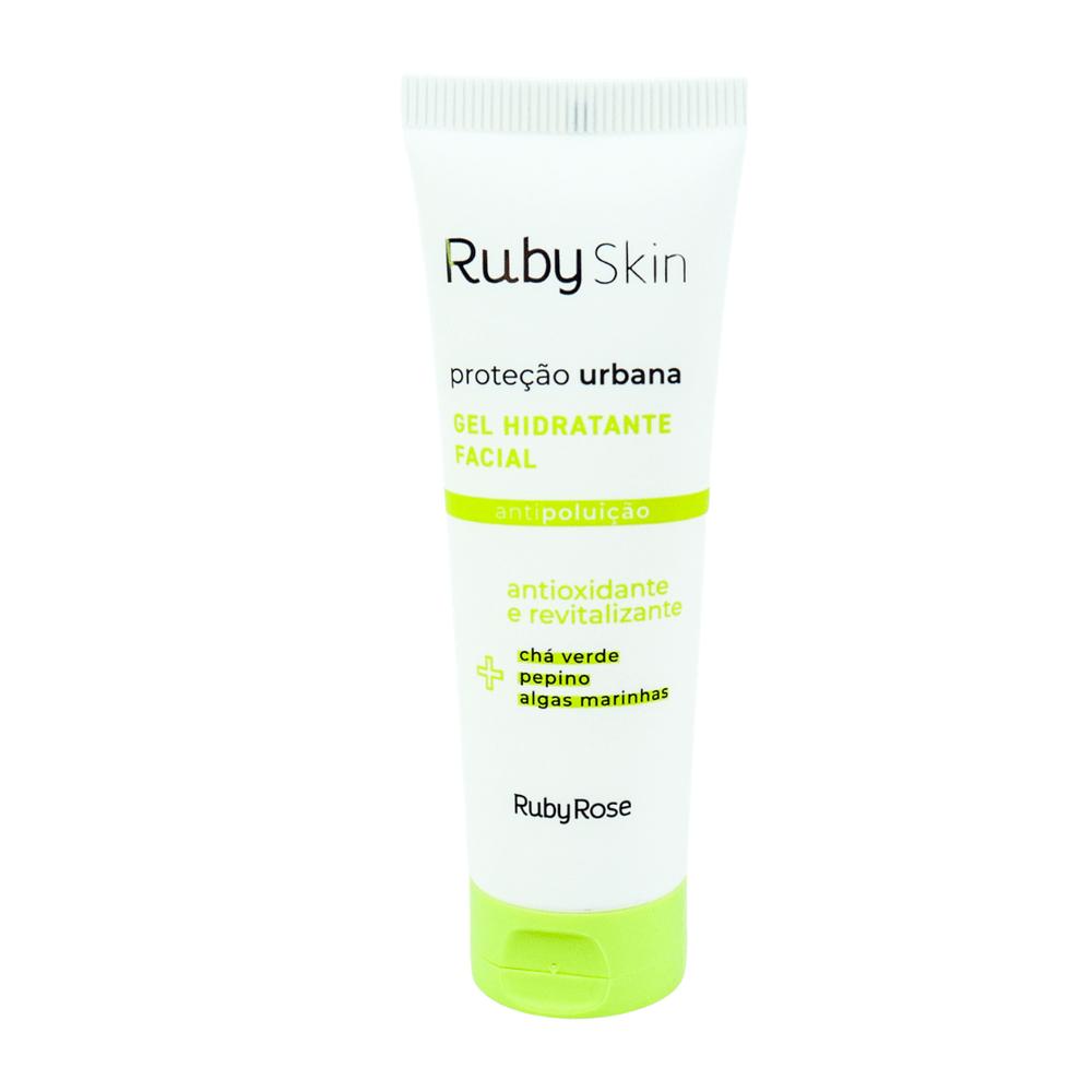 Gel Hidratante Facial Proteção Urbana Ruby Rose - Único