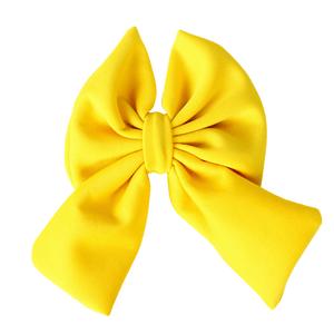 presilha-laco-de-tecido-amarelo