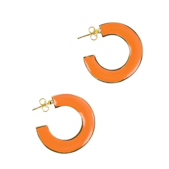 brinco-de-argola-colorido-laranja