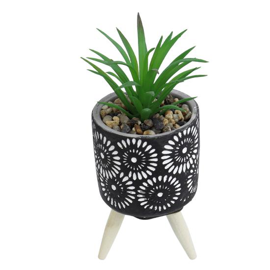 Vaso-Decorativo-Com-Tripe-e-Suculenta-Artificial-modelo-1