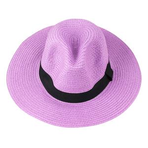 chapeu-de-palha-colorido-Panama-com-faixa-lilas