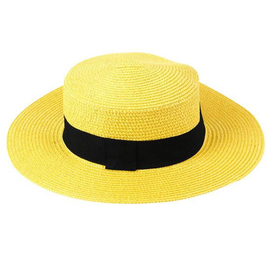 chapeu-de-palha-colorido-com-faixa-amarelo