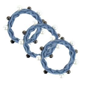 Kit-de-Elastico-sanfonado-Para-Cabelo-Com-Perolas-azul-claro