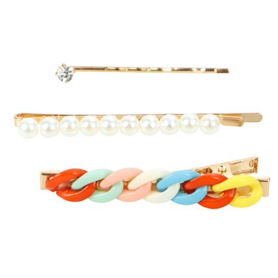 kit-de-grampos-com-perolas-e-corrente-trancada-colorido