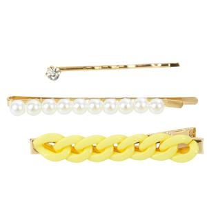 kit-de-grampos-com-perolas-e-corrente-trancada-amarelo