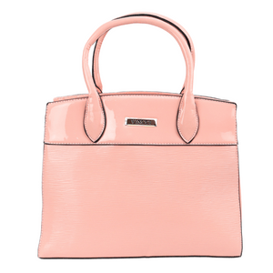 Bolsa-Media-Envernizada-Com-Textura-Frontal-Vincci--rosa