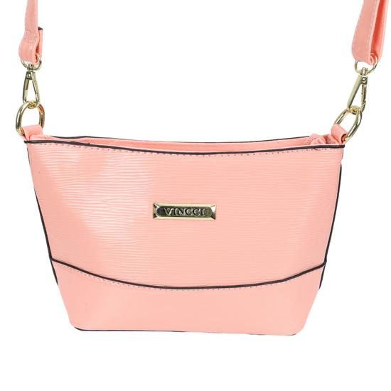 Bolsa-Pequena-Envernizada-Com-Textura-Frontal-Vincci-rosa