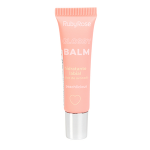 Hidratante Labial Glossy Balm Ruby Rose-Peachilicious