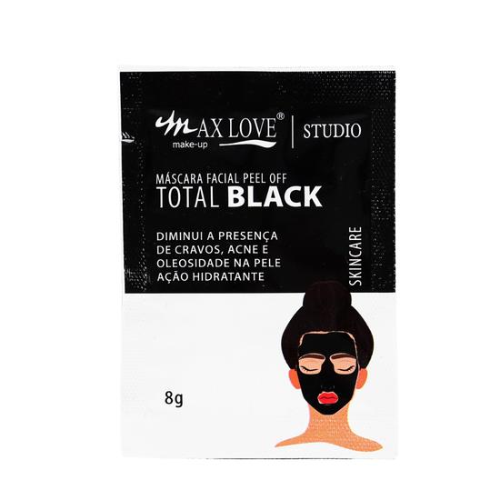 Mascara-Facial-Peel-Off-Total-Black-Max-Love