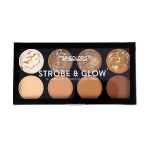 Paleta-de-Iluminado--Bronzer-e-Contorno-Strobe-e-Glow-SP-Colors