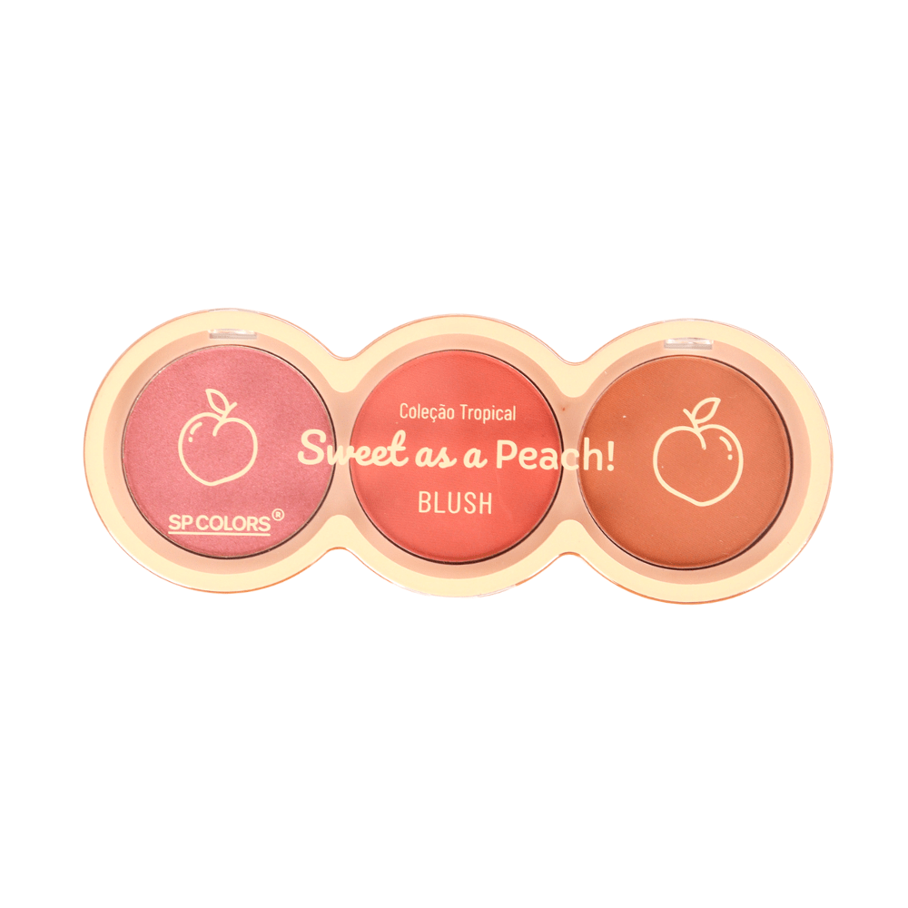 Paleta de Blush Sweet As a Peach SP Colors - Único
