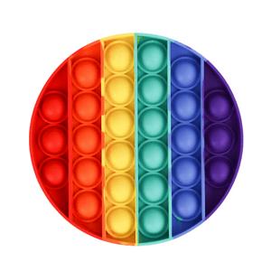 Brinquedo-Anti-Stress-Pop-It-Bolha-Sensorial-Redondo-Colorido