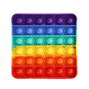 Brinquedo-Anti-Stress-Pop-It-Bolha-Sensorial-Quadrado-Colorido