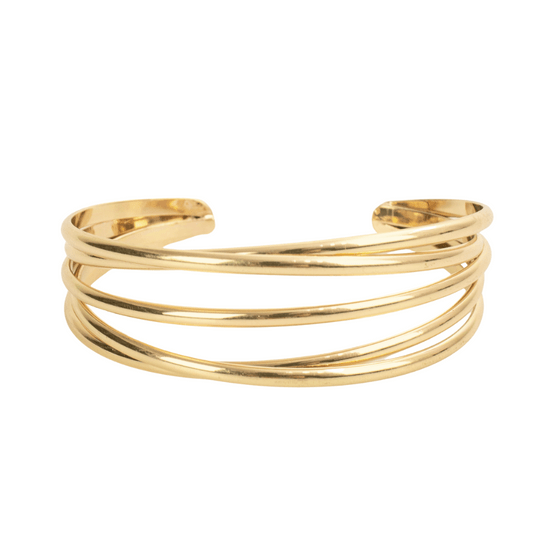 Pulseira-Bracelete-dourado