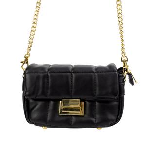 Bolsa-Envelope-Pequena-Com-Textura-em-Costura-preta